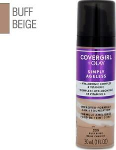 Covergirl + Olay Simply Ageless 3-in-1 Foundation 30mL - Buff Beige