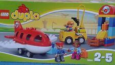 LEGO DUPLO =10590-L'AEROPORT AVION + COMPLET NEUF SCELLE-TRES SYMPA !!!