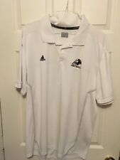 Adidas Akron football Team Short Sleeve Shirt  - Golf Shirt - 2XL - Zips - USED
