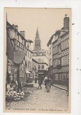 Caudebec En Caux Rue des Belles Femmes France [LL 18] Vintage Postcard 832a