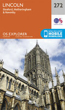 Lincoln Explorer Map 272 - New - OS - Ordnance Survey 2015