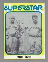 1982 TMCA - Superstar - Babe Ruth - #11 - Series 1