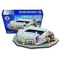 Chelsea Stamford Bridge Football Stadium 3D Jigsaw Puzzle