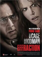 Affiche 120x160cm EFFRACTION (TRESPASS) 2012  Nicolas Cage, Nicole Kidman BE