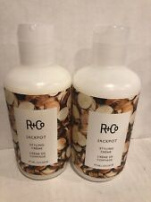 Set of 2 R+Co Jackpot Styling Creme 6 oz each