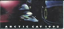 Snowmobile Brochure - Arctic Cat - Product Line Overview - 1992 (SN22) N