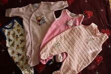 Babyset Baby Bekleidung Set 4-tlg.Set Strampler BERTI DISNEY Größe 62 Mädchen