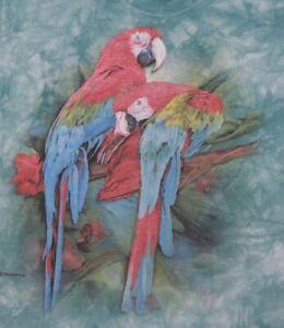 Vintage The mountain tie-dye parrot T-shirt, size XL