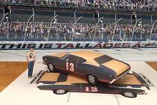 Papercraft Talledaga Nights Chevrolet Chevelle Paper Model Movie Car EZU-make