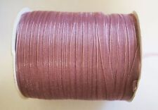 15 Meters Organza Ribbon - 7mm - Lavender Rose
