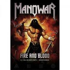 Manowar - Fire & Blood  [DVD]  Neu & OVP