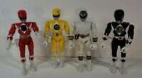 "1993 Bandai Power Rangers Action Figures MMPR Approx 8"" Lot of 4 Bundle Vintage"
