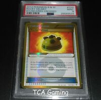 PSA 9 MINT Rocky Helmet 153/149 BW SECRET RARE HOLO Pokemon Card