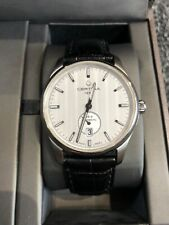 Certina DS-4 Automatic Gents SS Watch With Leather Strap 40mm