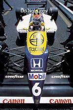 Nelson Piquet Williams FW11B belga Grand Prix 1987 fotografía