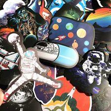 Cool Space Stickers 5 10 25 NASA UFO Astronaut Space Rocket Stars Galaxy Laptop