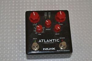 NUX atlantic delay/reverb pedal