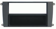 Mascherina con foro ISO/Doppio Iso/Doppio DIN colore nero Porsche Cayenne