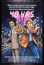 48 HOURS HRS * CineMasterpieces NM-M UNUSED MOVIE POSTER EDDIE MURPHY 1982
