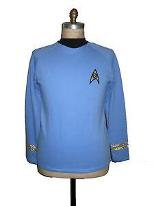 Uniform STAR TREK Classic Spock - Replica  BW - NEU XL