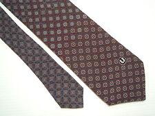 EMANUEL UNGARO PARIS Cravatta Seta 100% Silk Signed With Tag