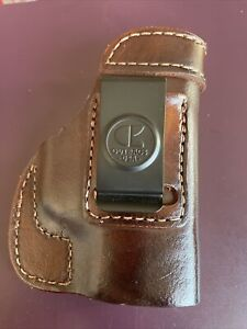 Out bags Leather Holster Walther PPS M1 Right Brown