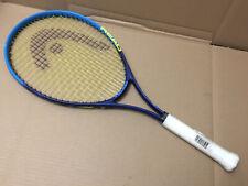 """HEAD TI. CONQUEST NANO TITANIUM Tennis Racket Blue Yellow 4 1/4""""-2 GRIP"""