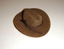 Ken Doll Sized Brown Cowboy Hat For Barbie/Ken Diorama dm03