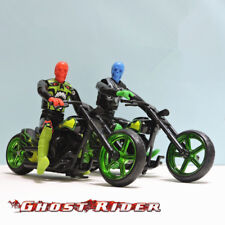 2 PCS Hotwheels Motorcycle Model Toy 1:18 With 2 Man Figure