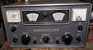 Hammarlund HQ-105TR Short Wave Receiver with Built-in CB Transmitter