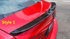 Carbon Fiber Rear Trunk Spoiler Boot Lip Wing For Mazda 3 Sedan Axela 2014-2018