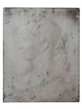 bas relief en marbre Art nouveau 1900