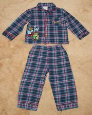 Bhs Boys' Blue/Red/White Check Thomas The Tank Engine Pyjamas, Age 18-24 Months