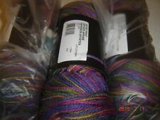 FREE SHIP  3 Skeins of Red Heart Super Saver WW Yarn in Artists Print  #0315