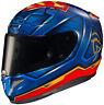 HJC RPHA 11 Pro Superman Motorcycle Helmet / Large