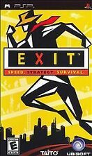 Exit UMD PSP GAME SONY PLAYSTATION PORTABLE