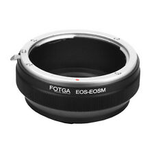 Fotga Anillo Adaptador para Canon EOS EF EF-S Soporte Lente M EF-M M1 M2 Cámara
