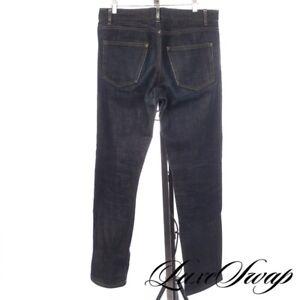 #1 MENS APC Paris Rescue Jean Droit Faded Raw Blue Indigo Selvedge Denim Jeans