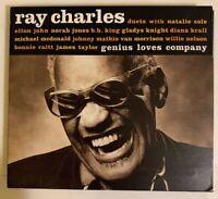 Ray Charles - Genius Loves Company CD 2004 Concord 7243 8 66541 2 0 VG