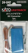 24-842 KATO Unitrack  Adaptateur courant pour aiguillages
