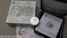 2 euro Italia 2016 Proof BE PP Fs Tito Maccio PLAUTO Italie Italy Italien Италия