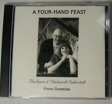 Barbara and Gerhardt SUHRSTEDT A Four Hand Feast CD Piano Duettists