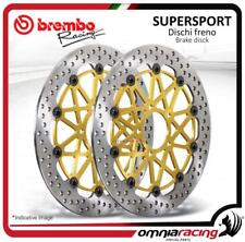 2 discos Freno FRE Brembo Supersport 320mm MV Agusta F3 675 Serie Oro 2012>2013