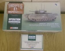 Corgi CC60102 1/50 Churchill MkIV Soviet Army 1943 Ltd Ed. No. 0001 of 5300