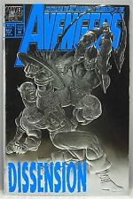 THE AVENGERS #363 SILVER FOIL COVER 1993 1ST DEATHCRY & UTE THE WATCHER APP! VF-