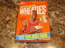 Michael Jordan Wheaties UNOPENED Plastic 12 oz Box - Chicago Bulls 1990 RARE