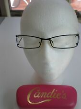 NWT Eye GLASSES LADY  VIVID 416  BLACK & WHITE VERY SHARP LOOKING SPRING HINGE