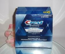Crest 3D No Slip Whitestrips Professional Effects 20 Strips 10 Treatments NO BOX