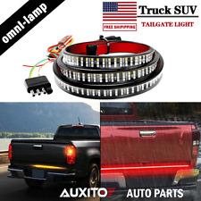 "SUV Truck Tailgate Light Bar Brake Reverse Turn Signal Stop Tail Strip 60"" Inch"