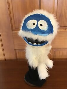 Bumble The Snow Monster Puppet handmade From Rudolph The Red Nose Reindeer...